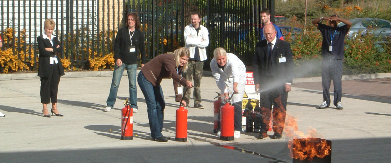 AB Fire Safety Training Courses in the UK